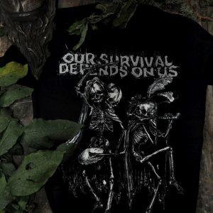 OSDOU - Skull T-Shirt
